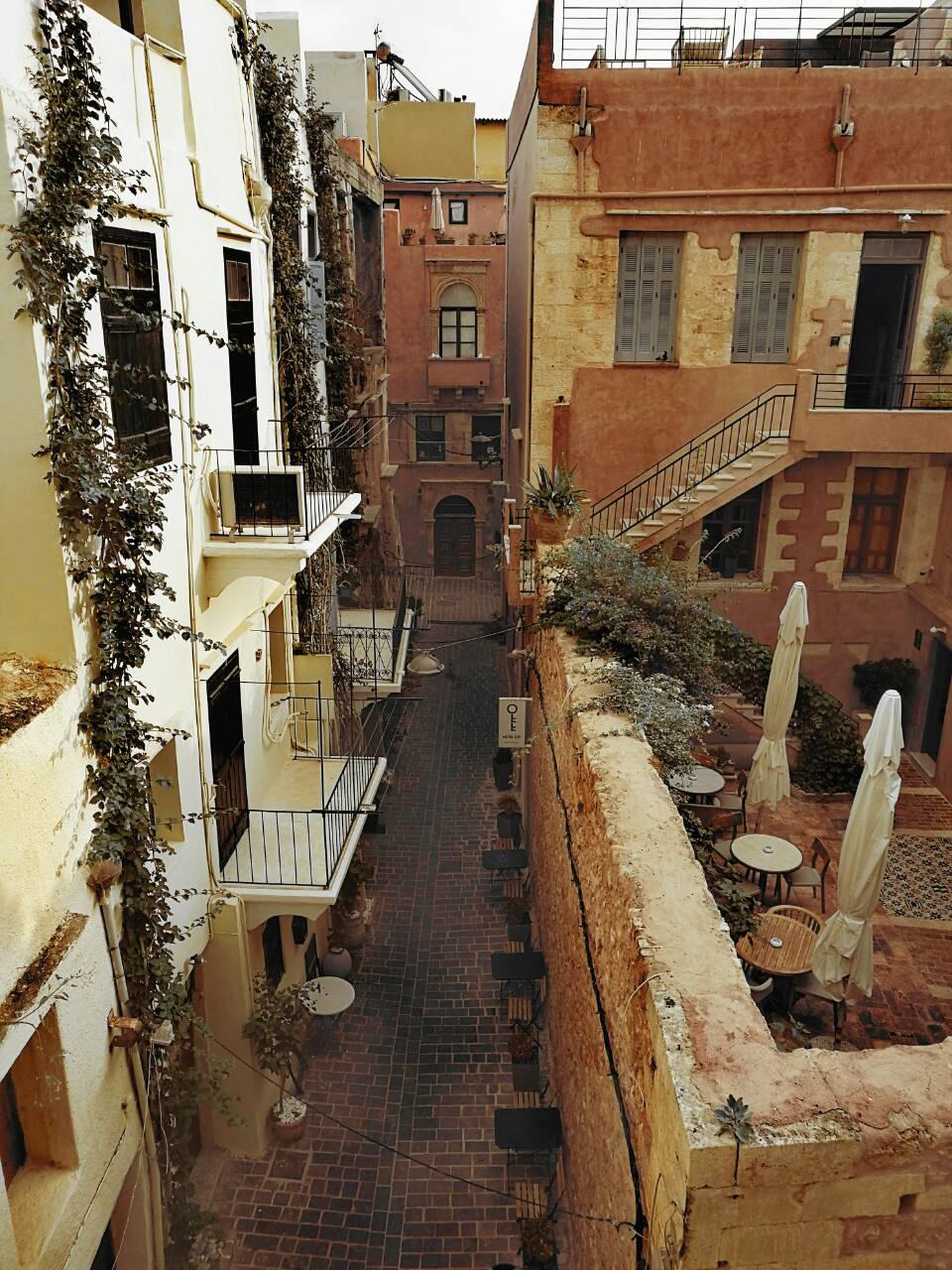 Παλιά Πόλη Χανιά, από ψηλά