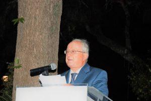 Ο κ. Χρήστος Μπελεγράτης, Πρόεδρος της Δημοτικής Τοπικής Οργάνωσης της Νέας Δημοκρατίας Αμαρουσίου